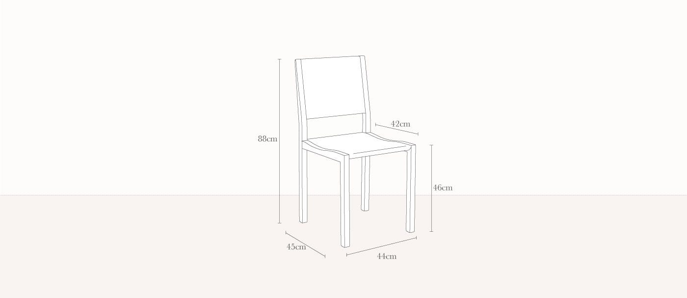 Lucido Chair Technical
