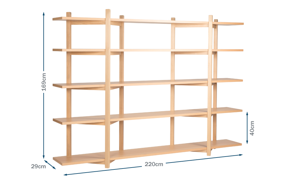Diamond Shelving High Technical
