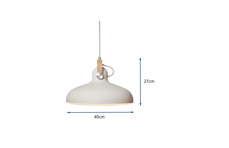 Carronade Pendant Light Large