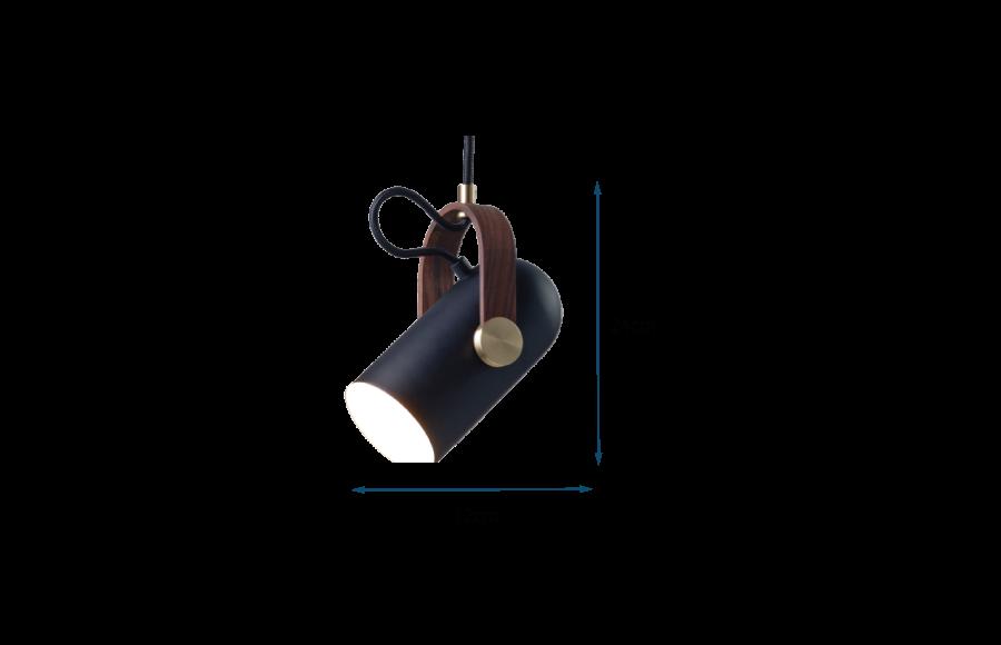 Carronade Pendant Light Small