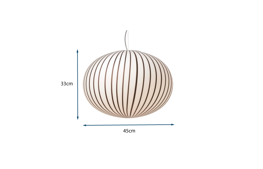 Filigrana S3 Ellipse Large Pendant