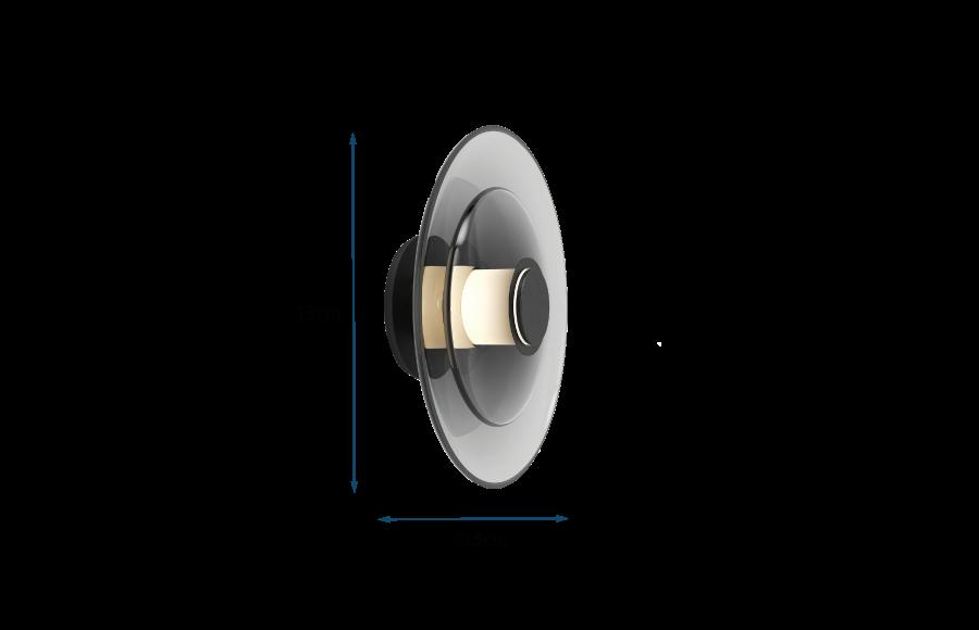 Luna Disc Wall Light