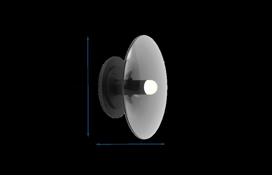 Luna Round Wall Light