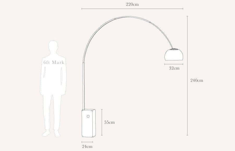 flos arco floor light