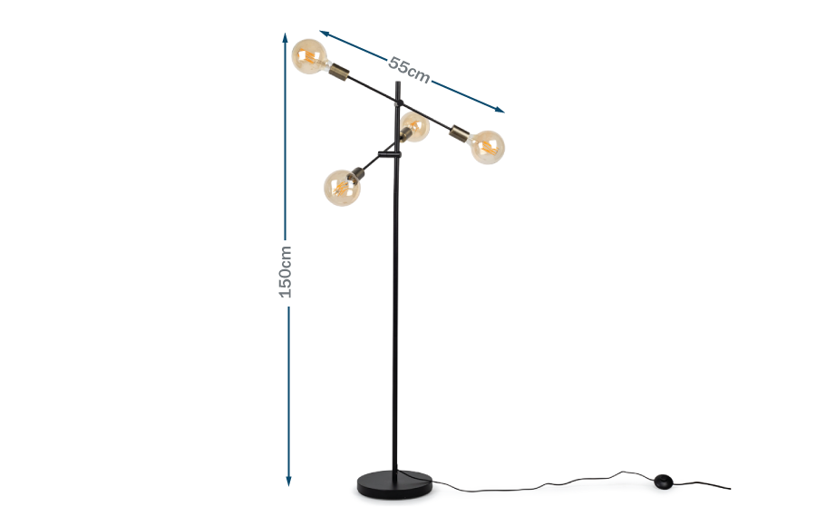 Mega Junction Floor Lamp