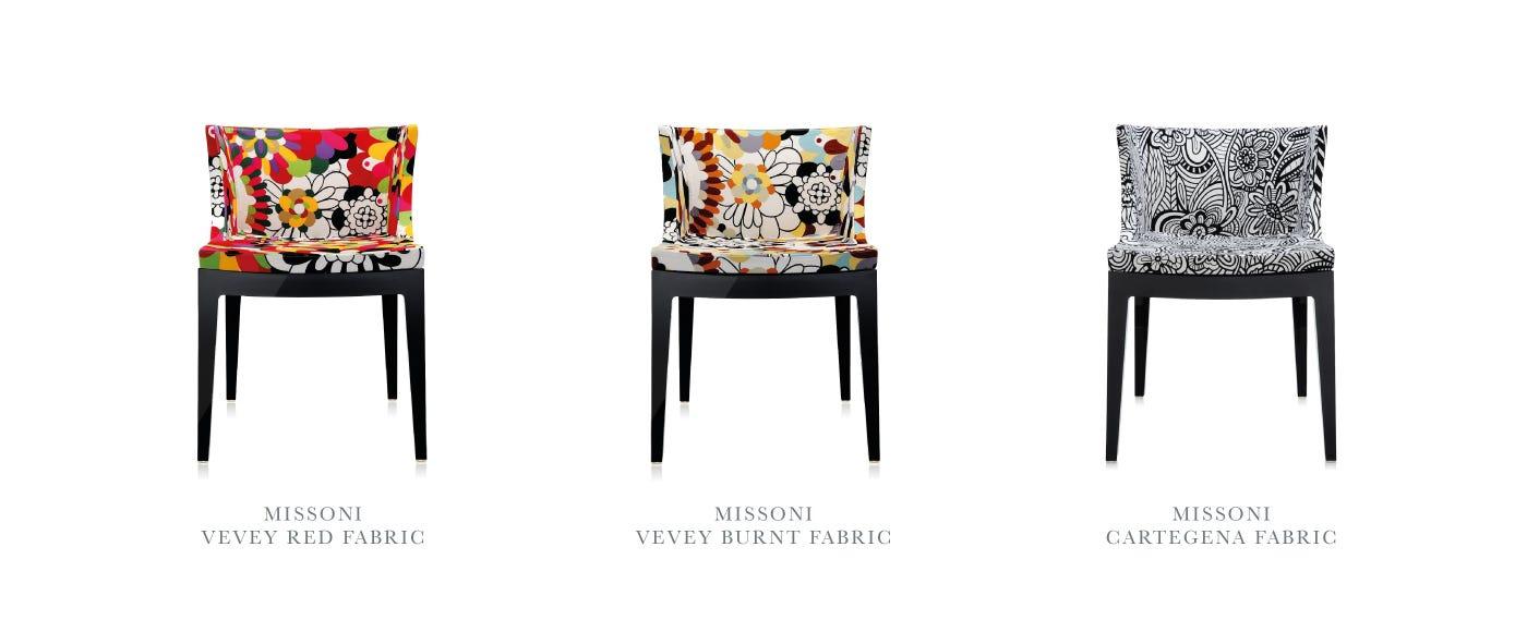 kartell mademoiselle chair - specification