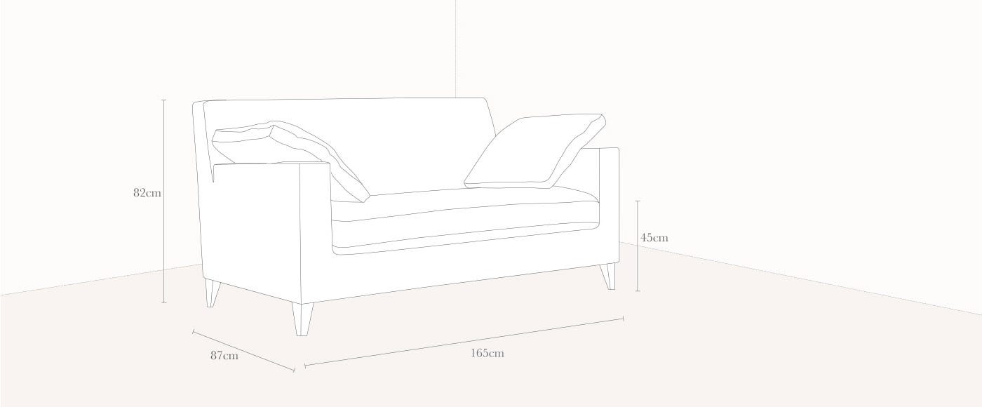 Citta Small Sofa Technical