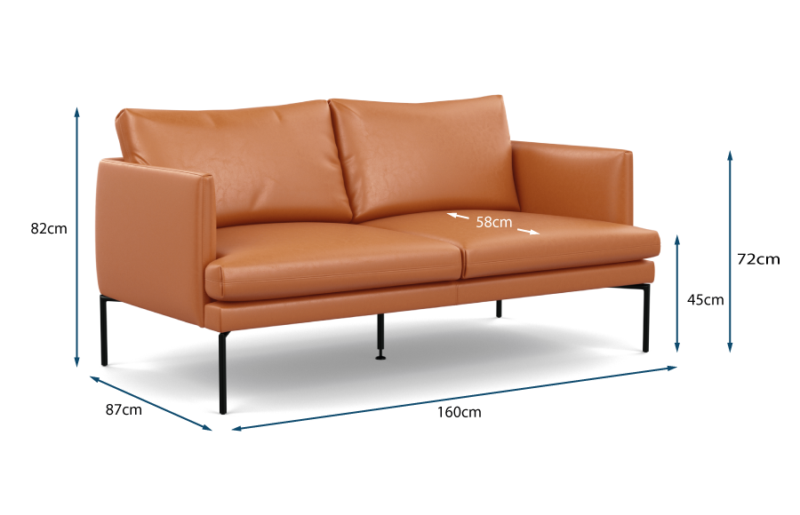 Matera 2 Seater Sofa Technical