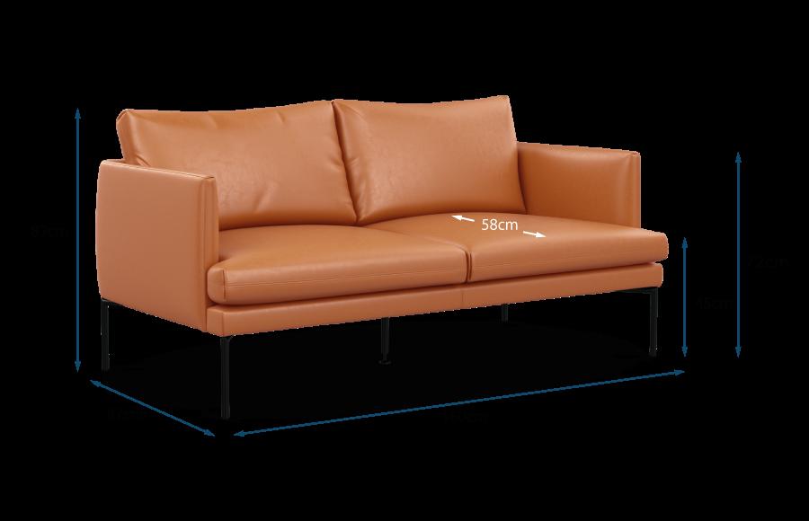 Matera 2 Seater Sofa Technical