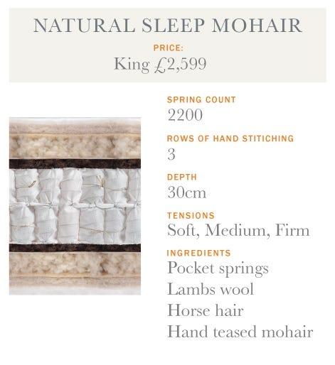 Natural Sleep Mohair Mattress