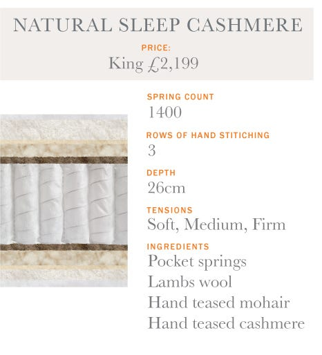 Natural Sleep Cashmere Mattress