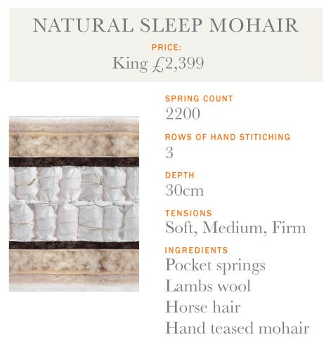 Natural Sleep Mohair Mattress