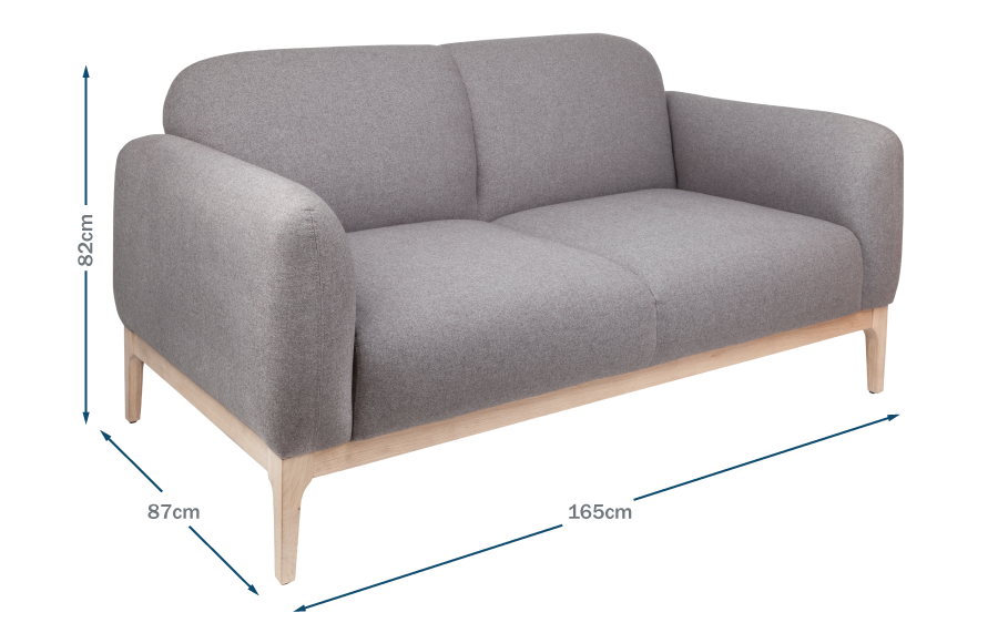 Morten 2 Seater Sofa Technical