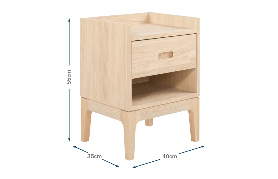 Morten Bedside Table Technical