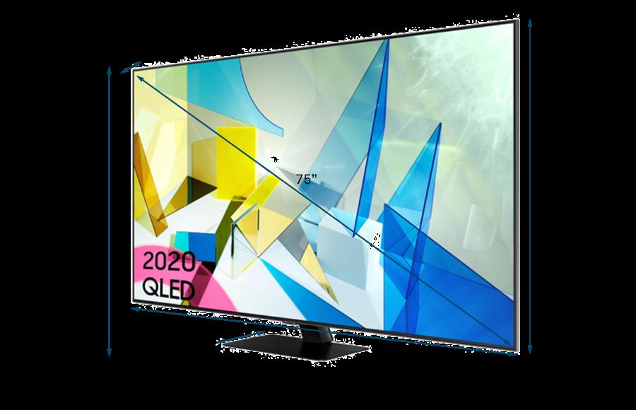 Samsung 2020 75 Q80T QLED 4K HDR 1500 Smart TV