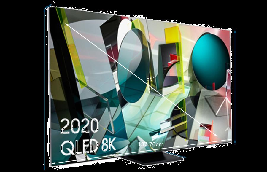Samsung 2020 85 Q950TS Flagship QLED 8K HDR 4000 Smart TV