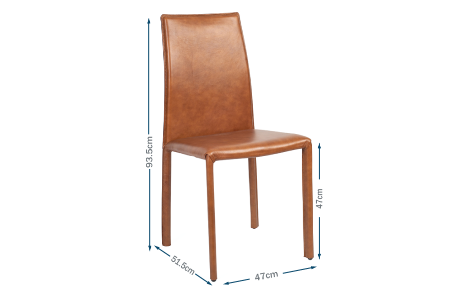 Byron Pair of Dining Chairs