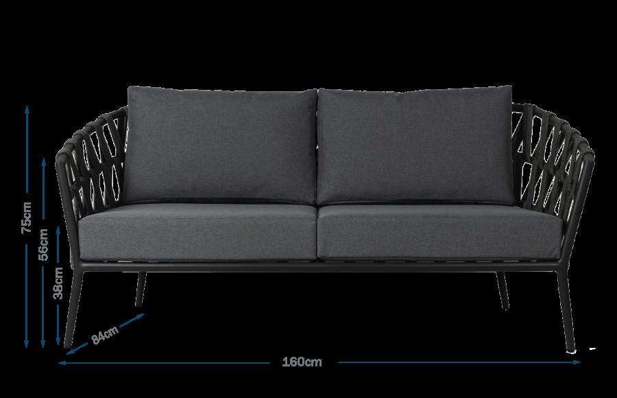 Leo 2 Seater Sofa
