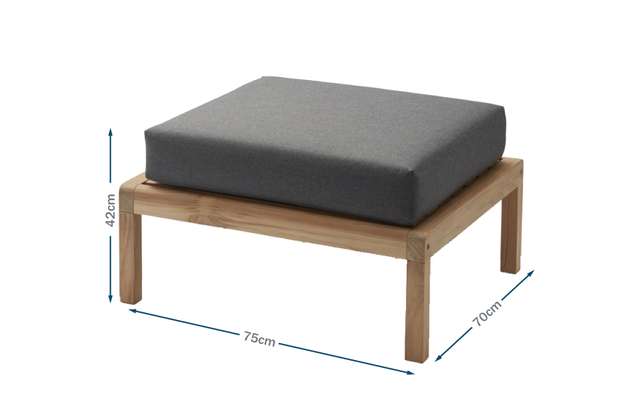 Virkelyst Outdoor Pouf