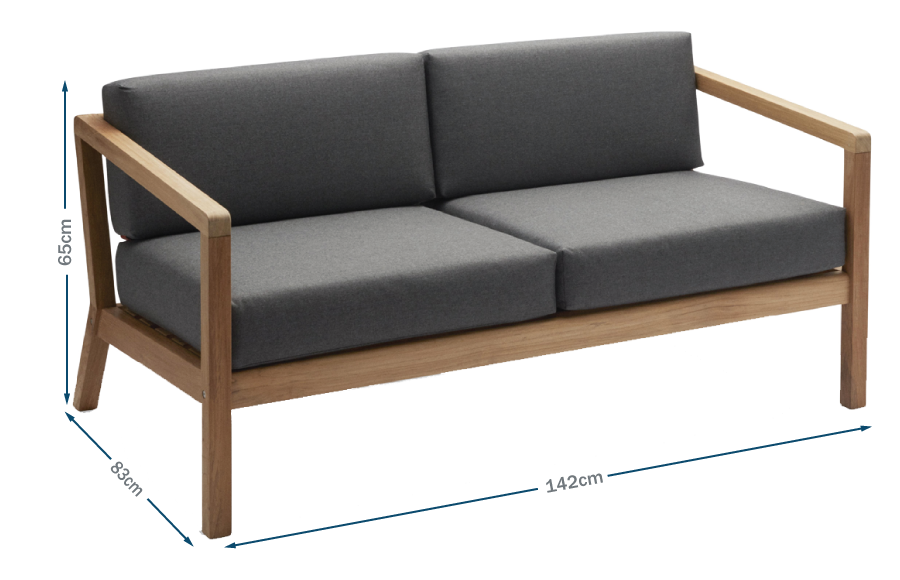Virkelyst Outdoor Sofa