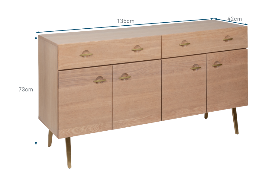 Crawford Large Sideboard
