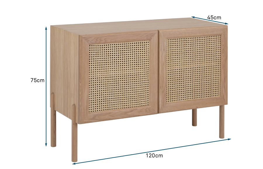 Flette 2 Door Sideboard