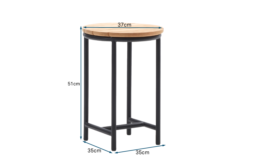 Wicked Round Side Table