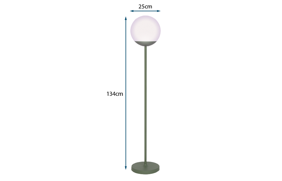 Mooon Outdoor Floor Lamp Cactus
