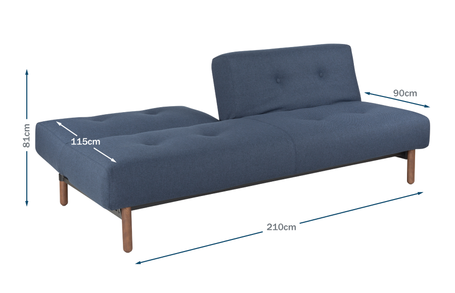Buri Sofa Bed Technical
