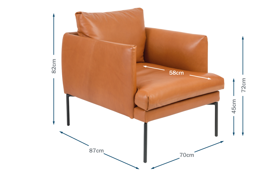 Matera Armchair Technical