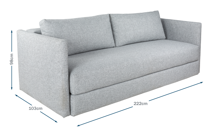 Oswald Sofa Bed Technical