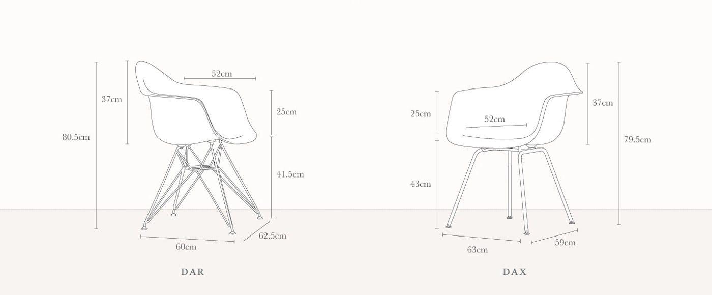 Vitra DAX Chair