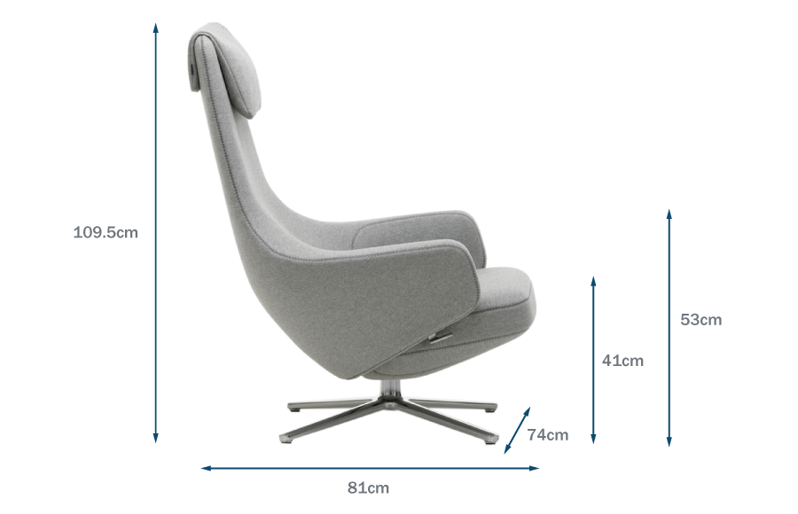 Repos Chair Dimensions