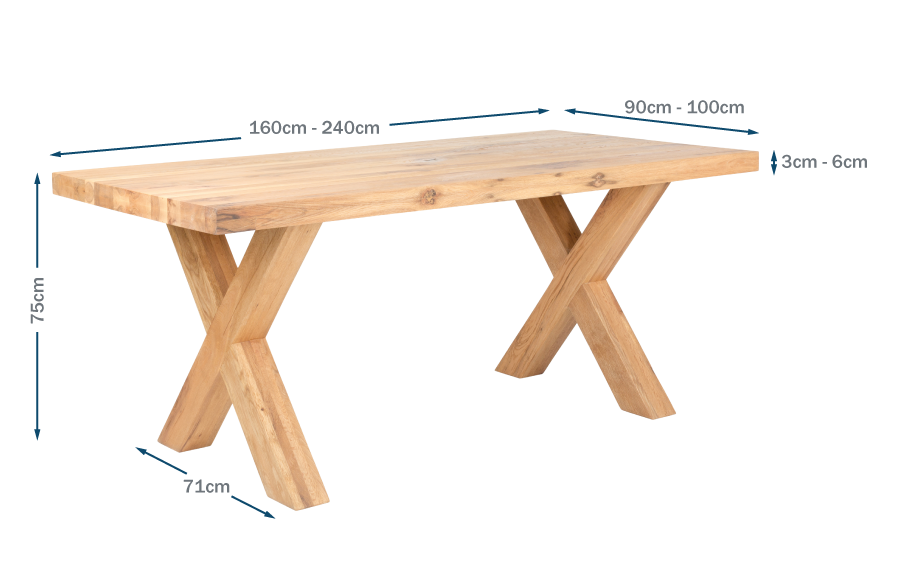 Trentino Dining Table Technical