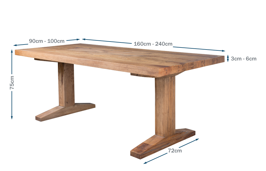 Tuscan Dining Table Technical