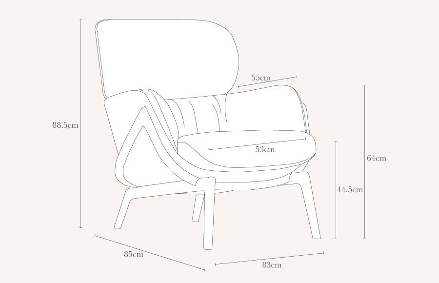Elysia Chair by matthew Hilton
