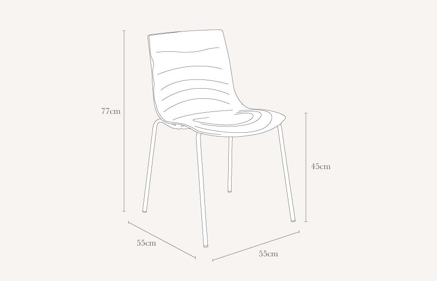 connubia by calligaris l eau chair discontinued heal s