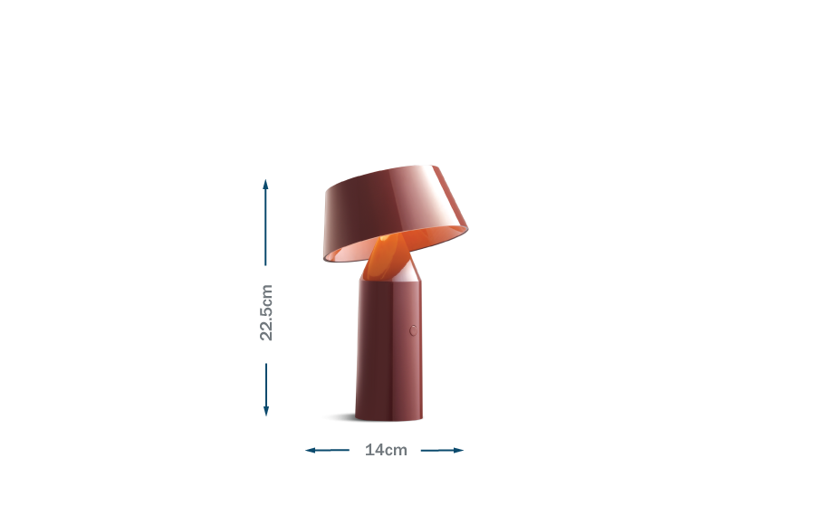 Bicoca Table Lamp Red Wine