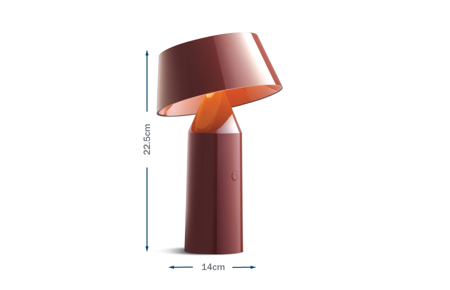 Bicoca Table Lamp Red Wine