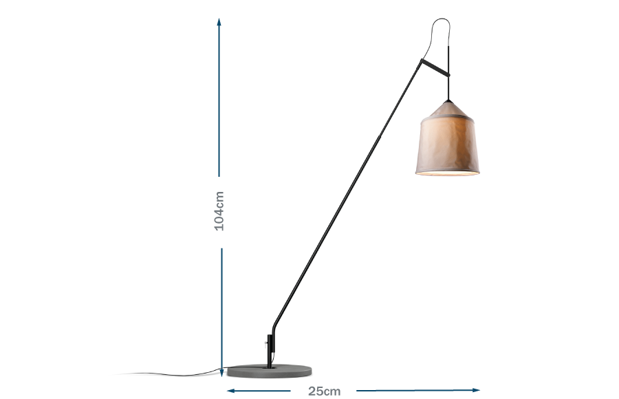 Jaima floor lamp