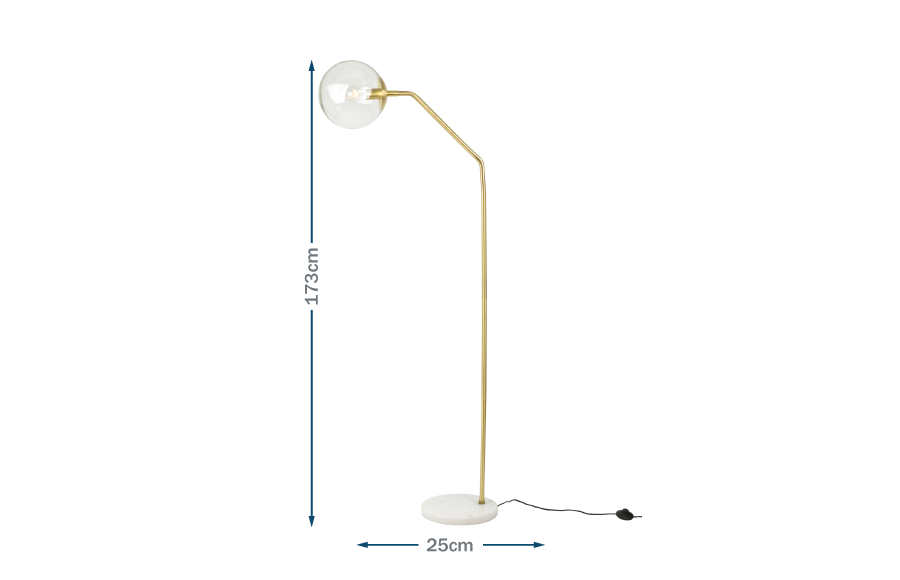 Joule floor lamp Technical