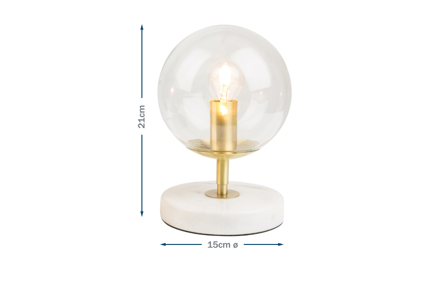 Joule table lamp Technical