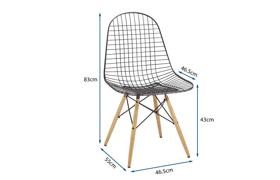 Eames Wire Chair DKW