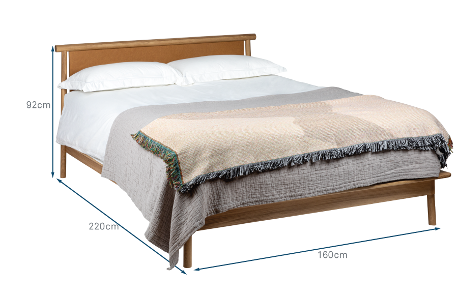 Eden Bed King Straight Headboard