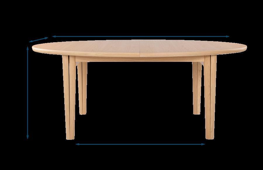 Ellipse Extending Dining Table