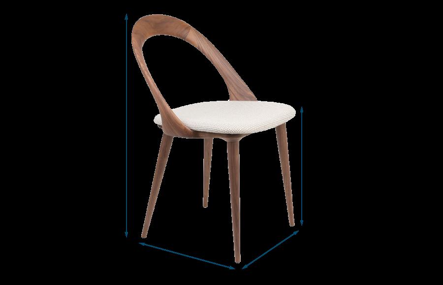 Ester Chair Walnut Var. I 602