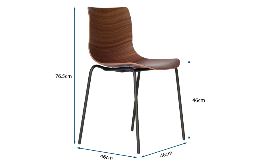 Loku Chair Tubular Base