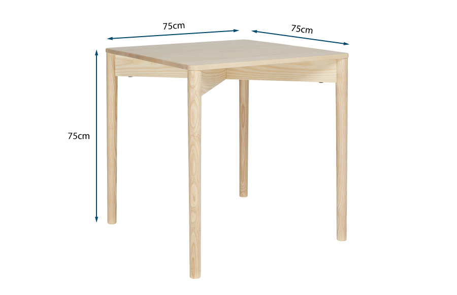Luca Square Dining Table
