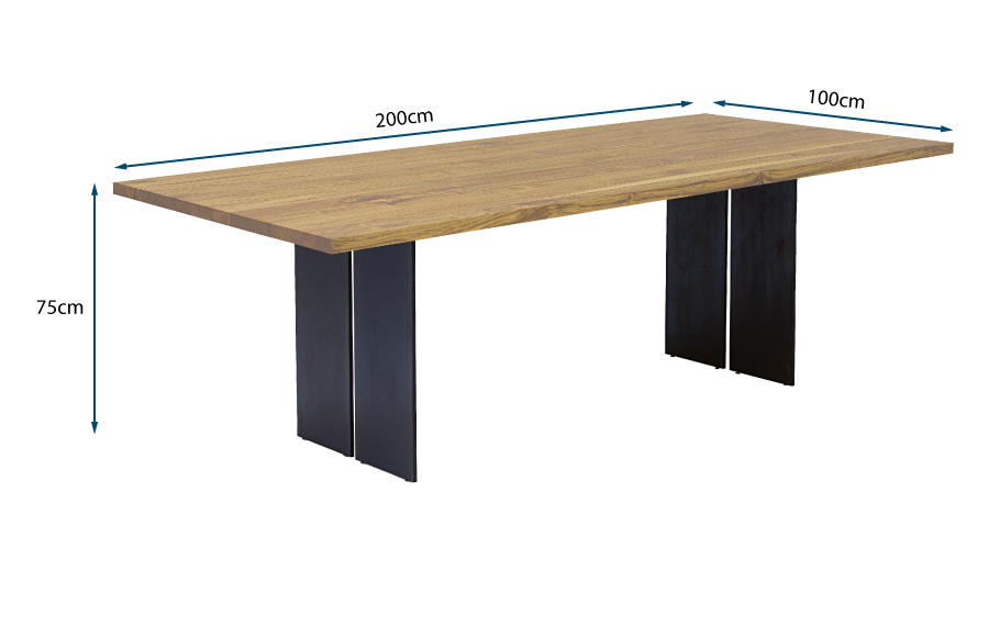 Natura Table 4-6 Seater