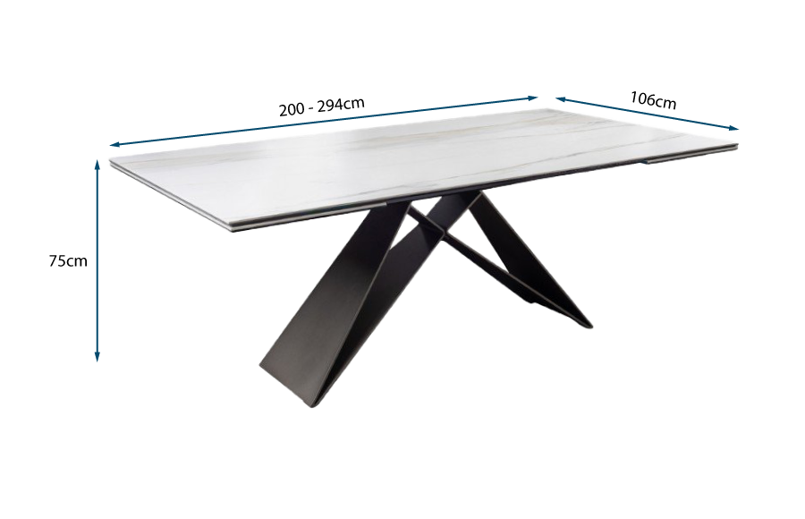 Premier Keramik Drive Extending Table